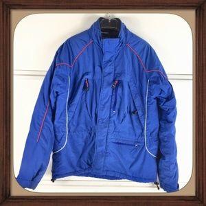 Tommy Hilfiger Blue Thick Winter Jacket EUC SizeS
